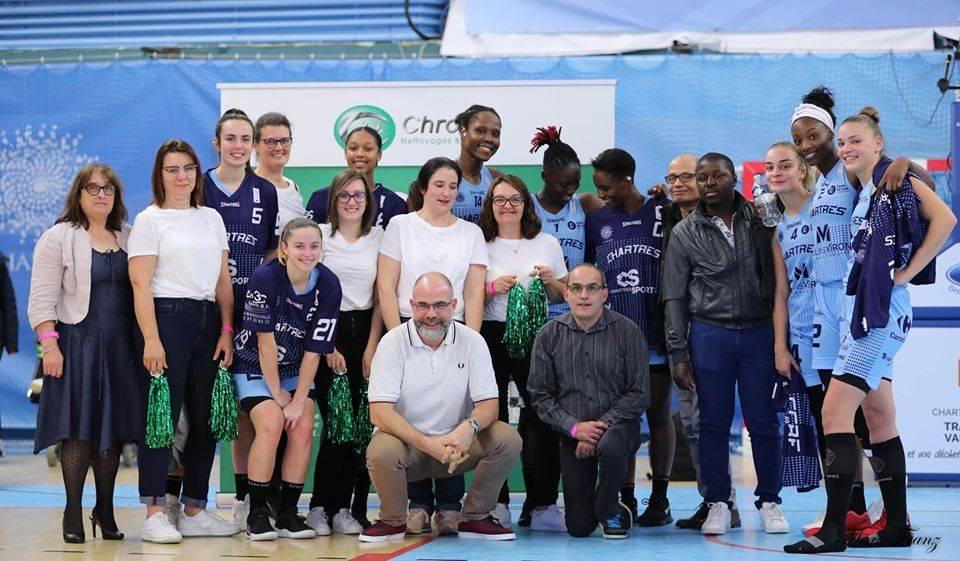 Chrome partenaire de l'équipe de Basket