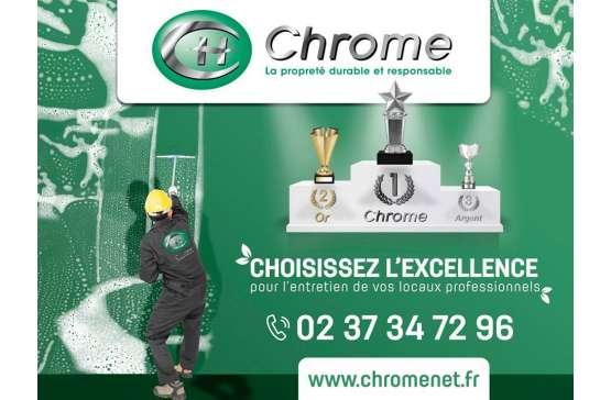 CHROME S'AFFICHE